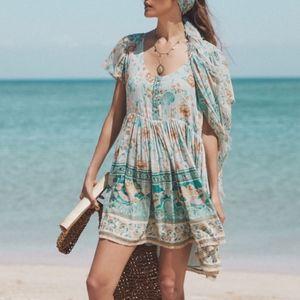 Spell Designs Seashell Mini Dress XXS